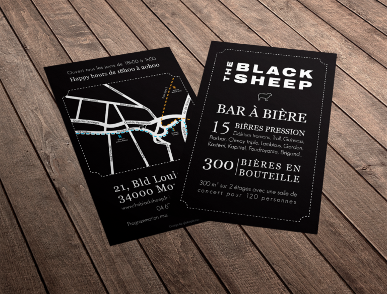Flyer The Black Sheep