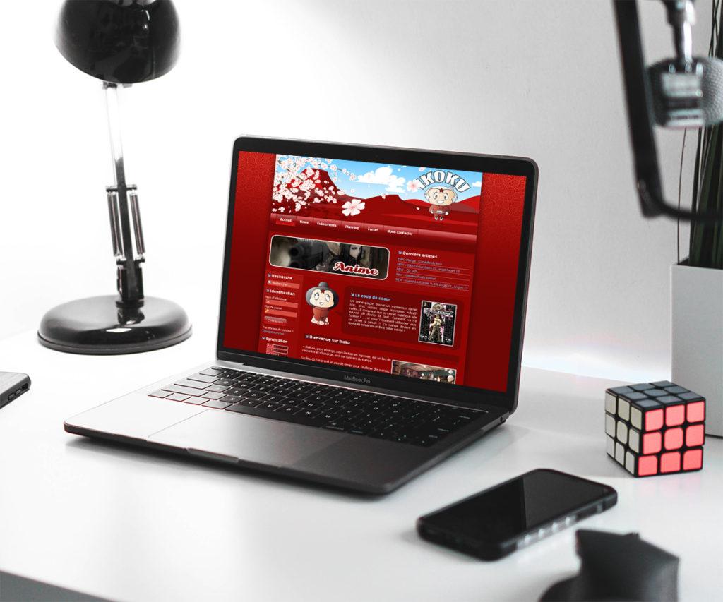 Site internet Librairie Ikoku