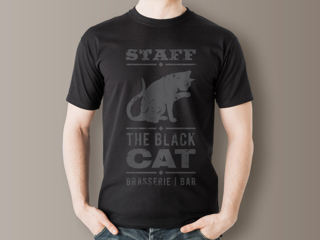 T-shirt The Black Cat