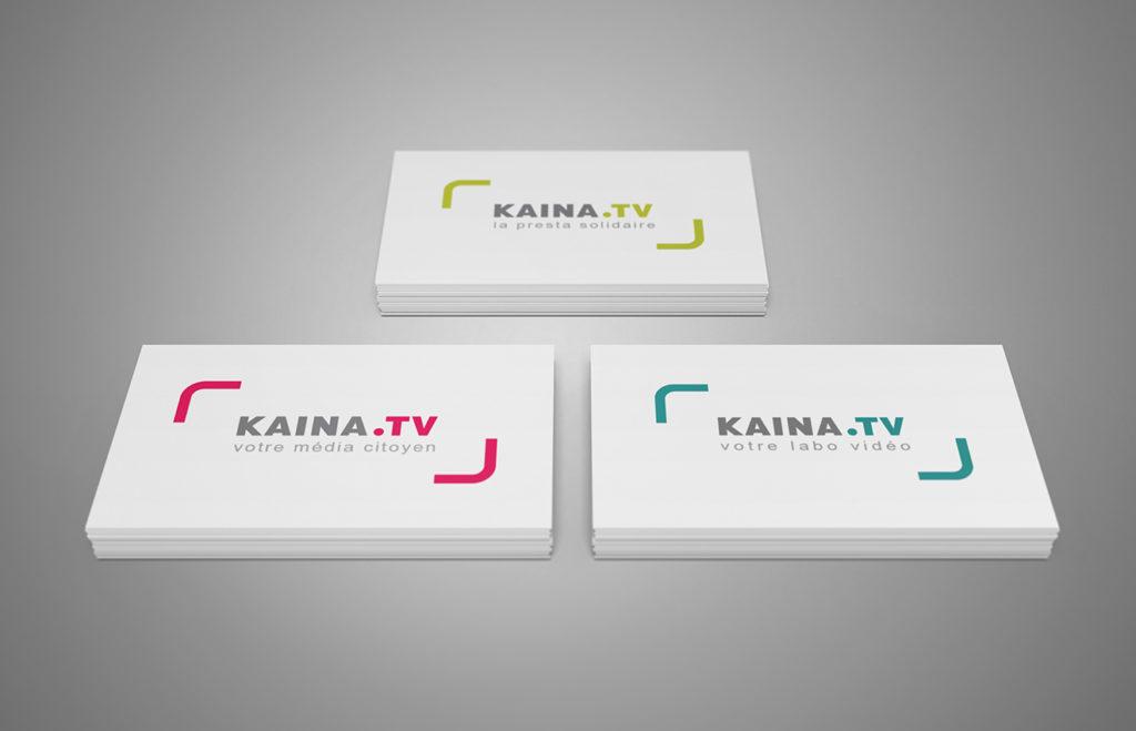 Logos Kaïna TV Montpellier