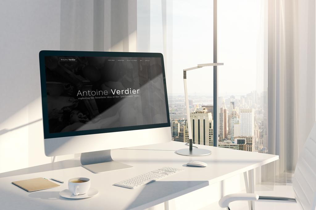 Site internet Antoine Verdier