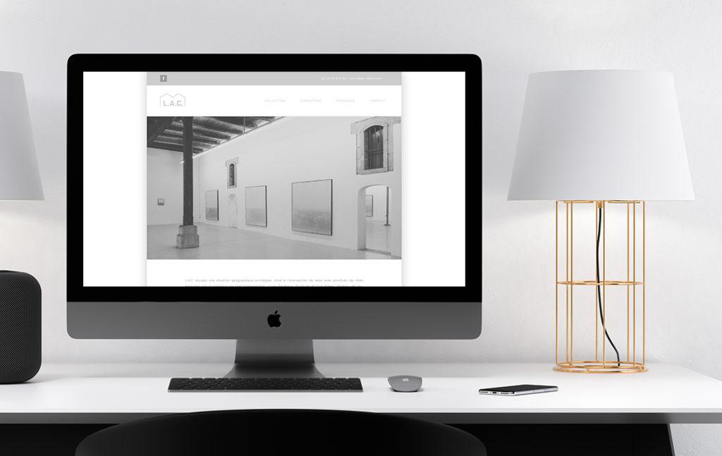Site internet L.A.C. Narbonne
